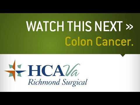 HCA Virginia Physicians - Dr. Richard Carter - Colon Cancer - WATCH VIDEO HERE -> http://bestcancer.solutions/hca-virginia-physicians-dr-richard-carter-colon-cancer    *** causes of colon cancer ***   What causes colon cancer and when should I be concerned? Learn about this condition, how providers treat it, and what it means for you and your health. Visit  to learn more. Video credits to the YouTube channel owner