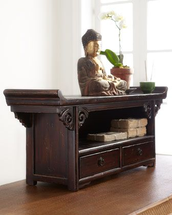 Antique Small Altar Table at Horchow....i need this for my room!