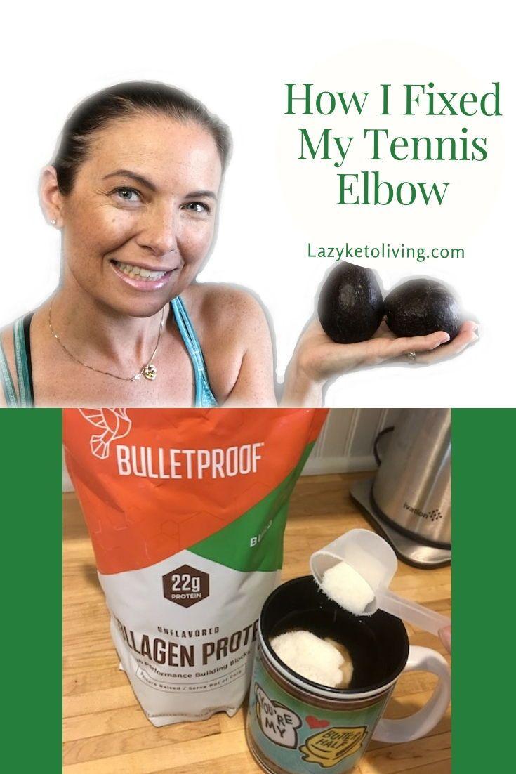 tennis elbow treatment diet