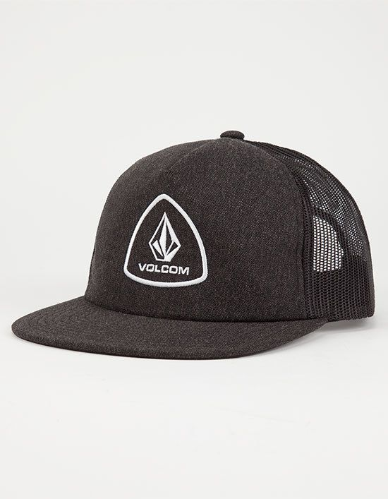 4f7f1a63a8888 VOLCOM Straight Forward Mens Trucker Hat