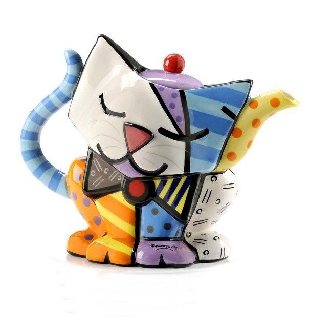 Romero Britto Kitty Teapot