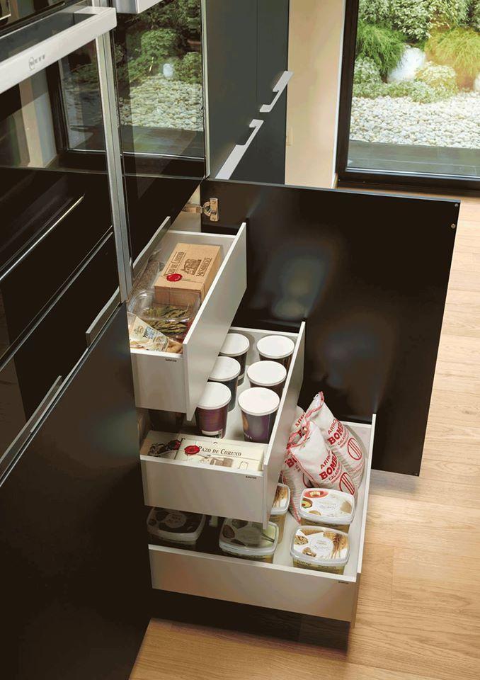 Mejores 12 imágenes de Ideas de organización en la cocina en ...