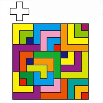 Actiludis: Encuentra la cruz. Agudeza visual