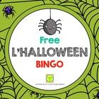 Free French Halloween Bingo - Français - Loto