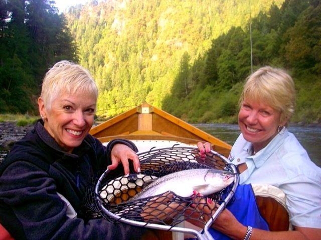 HEY LADIES! Sisters on the Fly Trips to host a fishing trip on Oregon's Rogue River http://www.womensoutdoornews.com/2014/09/sisters-fly-host-fishing-trip-oregons-rogue-river/ #FlyFisihing #LadyAngler #SistersontheFly Sisters on the Fly is hosting a 4-day fishing trip on Oregon's Rogue River.