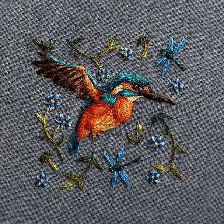 New Densely Embroidered Animals by Chloe Giordanoby Christopher Jobson on July 6, 2015