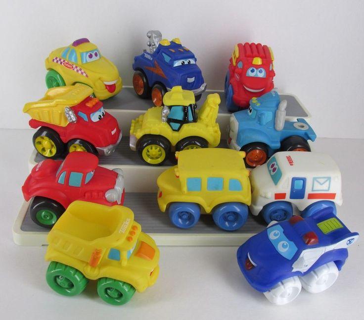 Tonka Hasbro Chuck And Friends Big 4 Quot Soft Cars Trucks