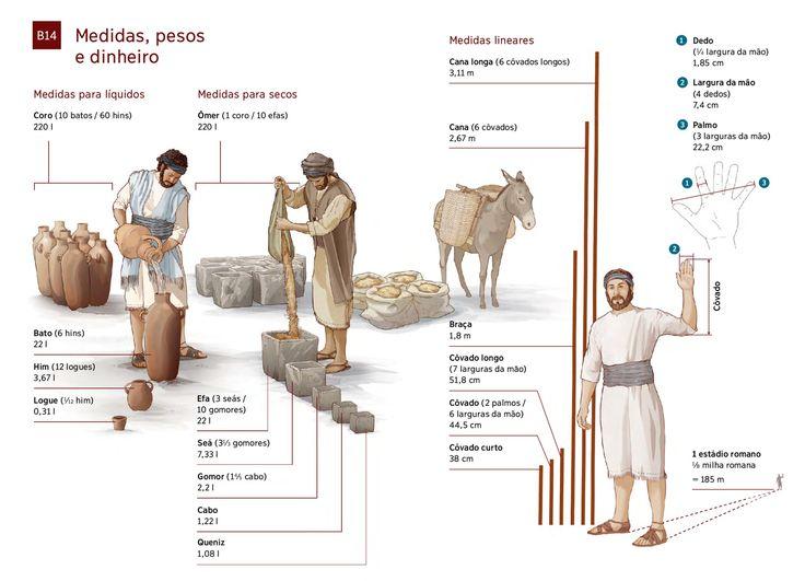 Medidas usadas na Bíblia | TNM