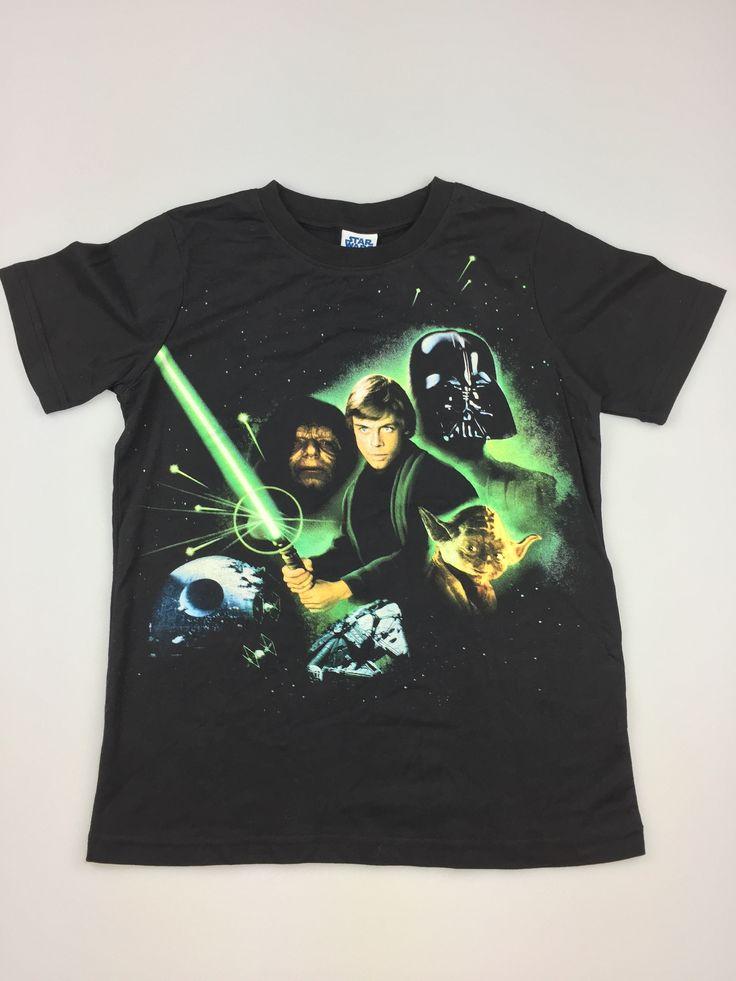 STAR WARS t-shirt,excellent pre-loved condition (EUC). Boys size 10. $6. #kidsfashion #boysfashion #StarWars