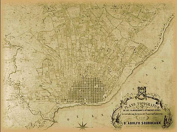 Plano De Buenos Aires Mapas Antiguos Pinterest Master - Argentina map vintage