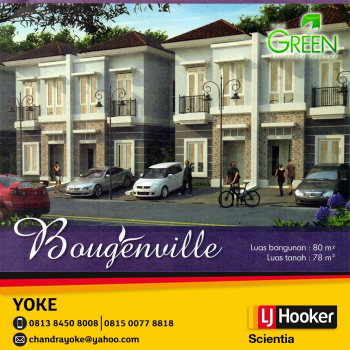 Green residence serpong bougenville display picture for Terrace 9 suvarna sutera