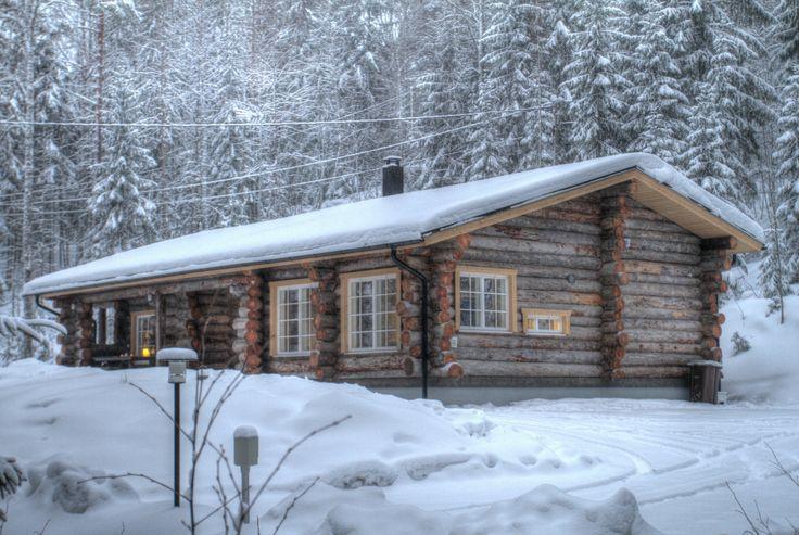 Ferienhaus Villa Taavetti von Hawkhill Nature im Nationalpark Nuuksio  @Hawkhill Nature - http://www.nordicmarketing.de/hawkhill-nature-ferienhaeuser/
