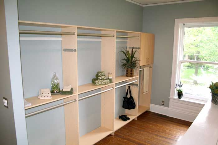 Smaller Projects Closet storage system agape construction st louis homes designers remodeling renovation
