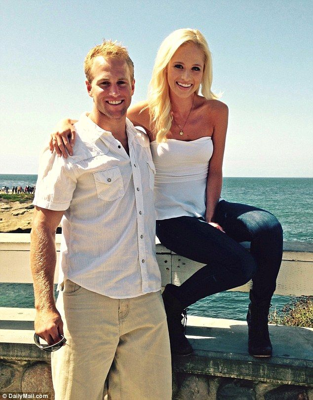 Inspiration: Tomi Lahren, 22, has been dating military officer 25-year-old Jerad Christian since February