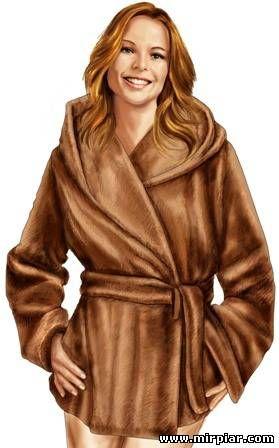 Меховая куртка. Выкройки бесплатно в натуральную величину