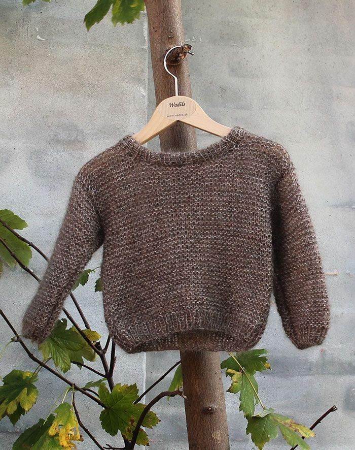 Flora sweater strikkeopskrift