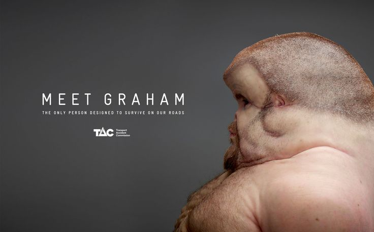 Meet Graham | Ideal Human for Road Safety Awareness Campaign | Award-winning Direct Response/Ambient | D&AD