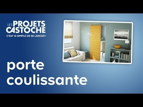 25 best ideas about porte coulissante castorama on for Poser porte coulissante