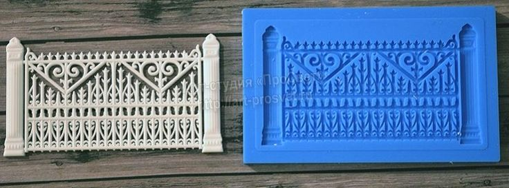 3D Silicone mold is used for making sweets and cake, baking, art. Silicone mold can withstand temperatures up to 250 degrees Celsius. This silicone mold can be used for the manufacture of food. Model - Section of Fence for Openwork Gate. | eBay!