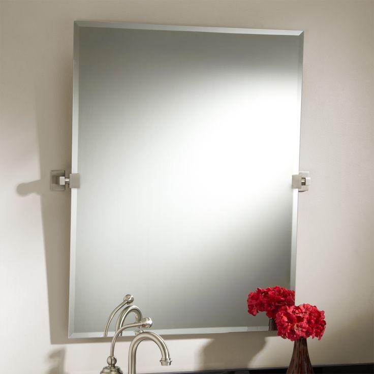 32 Jamestown Rectangular Tilting Mirror Chrome Code