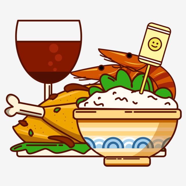 White Rice Bowl Plate Wine Glass Red Wine Lettuce Shrimp Png And Vector With Transparent Background For Free Download Rice Recipes For Dinner Rice Bowls White Rice