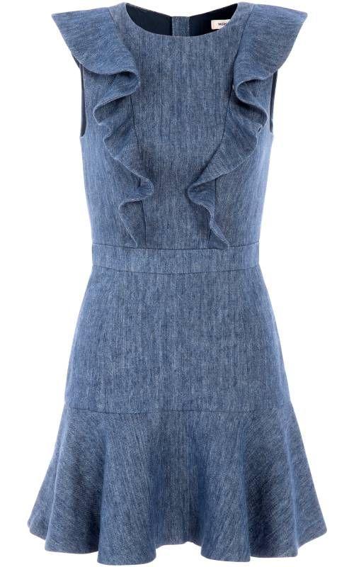 School Denim Dress - Manoush
