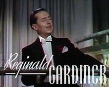 rom the trailer of the film Sweethearts (1938) BornWilliam Reginald Gardiner 27 February 1903 London, England, United Kingdom Died7 July 1980 (aged 77) Westwood, Los Angeles, California, U.S