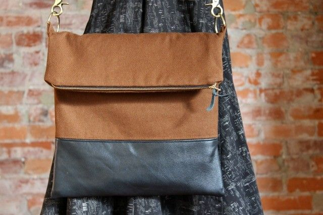 fear fabric: leather. Nice way to use up my leather scraps