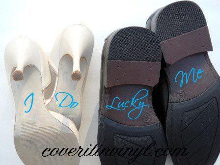 something blue bride and groom shoes - www.theoverwhelmedbride.com #somethingblue #weddingideas #wedding #weddings #weddinginspiration #bridetobe