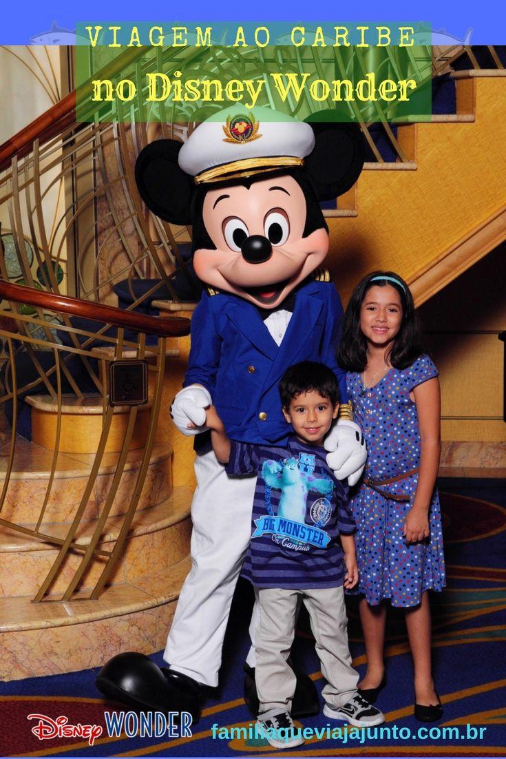 Fazer um cruzeiro é o sonho de muita gente, também pudera. Aliar diversão, boas refeições e uma viagem em alto-mar sem precisar se preocupar com absolutamente nada, torna qualquer férias perfeita.  Agora imagine tudo isso a bordo de um navio da Disney Cruise Lines. Foi por isso que a escolha do nosso primeiro cruzeiro em família não poderia ser outra. Fizemos uma viagem maravilhosa pelo Caribe a bordo do Disney Wonder.