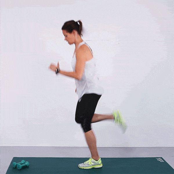 Butt kickers workout