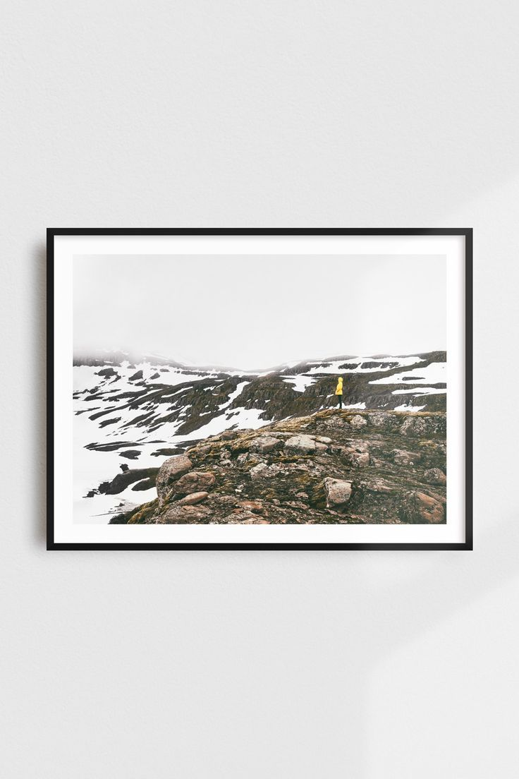 Wanderlust Mountain Art Print, Adventure, Travel Gift, Nature Photography, Prints Wall Art – Cool Etsy Finds Group Board