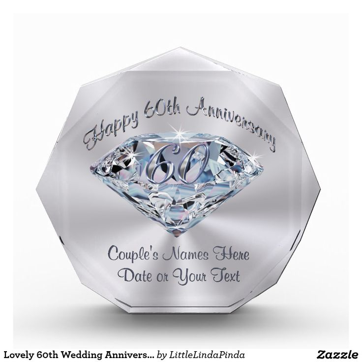 Lovely 60th wedding anniversary gifts personalized best for 60th wedding anniversary gifts