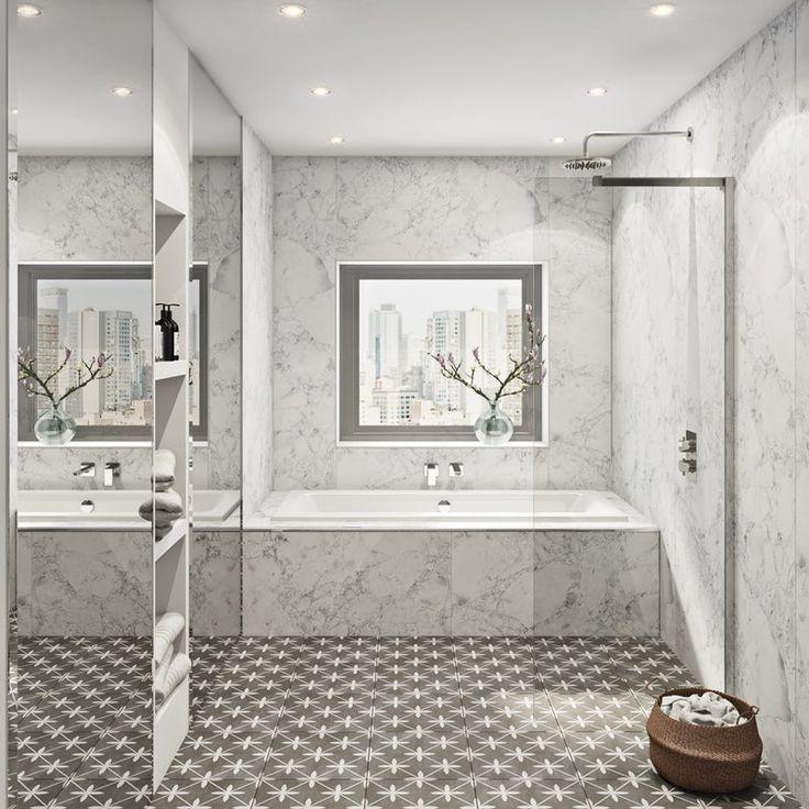Multipanel Linda Barker Bianca Luna Hydrolock Shower Wall Panel Shower Wall Panels Bathroom Wall Panels Bathroom Cladding