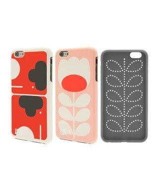 2pc Elephant & Tulip Stem iPhone 6 case Sale - Orla Kiely Sale