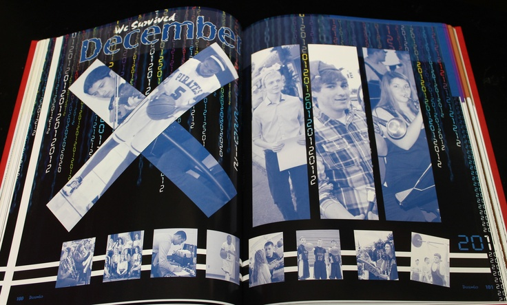 Pasco High School Yearbook- XIII December Divider-Lots of student coverage.