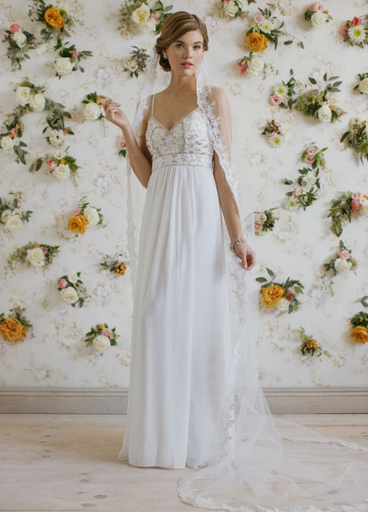 25 cute second wedding dresses ideas on pinterest renewal of ruche vintage inspired wedding dresses for your second marriage junglespirit Gallery