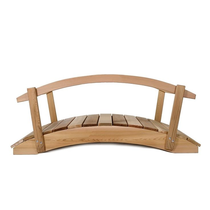 would look good over my future dry creek bed all things cedar garden bridge - Japanese Wooden Garden Bridge