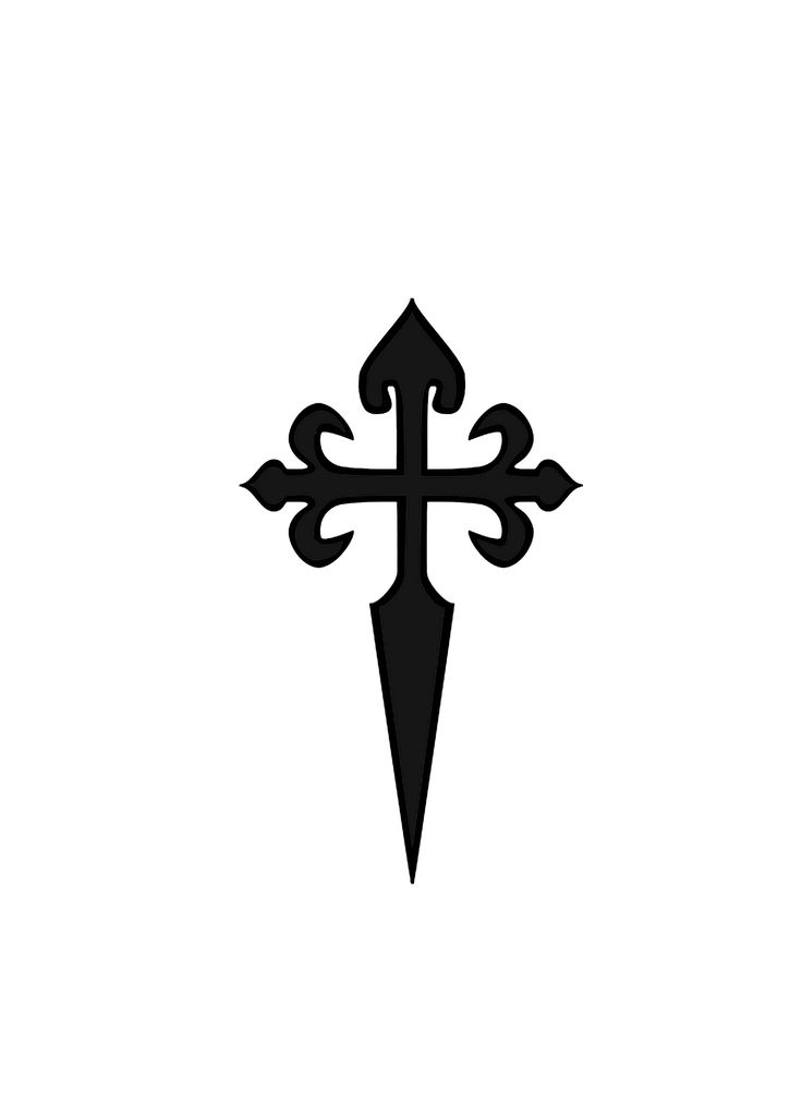 traditional cross symbol of Saint James