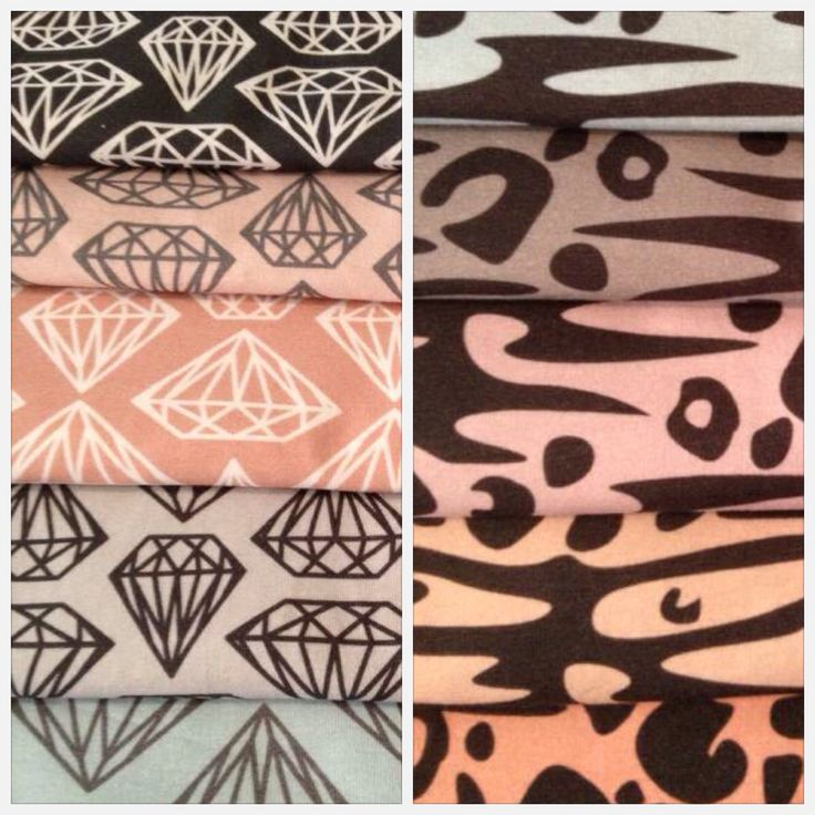 New lovely liandlo jersey fabrics with diamonds and Leo zebra Sew sy sytt mjuka tyger fabric stoff Design:Johanna Ahlard
