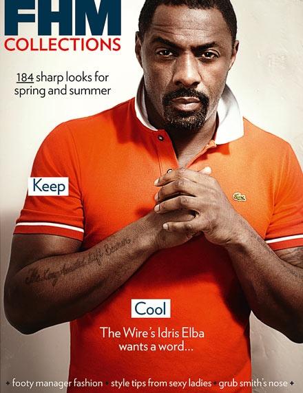 Idris Elba/Stringer Bell.