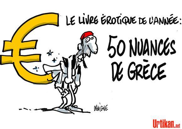 Les dirigeants de la zone euro saluent les progrès de la Grèce - Dessin du jour - Urtikan.net