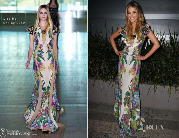 Delta Goodrem In Lisa Ho – 'The Voice' Live Show Launch Party