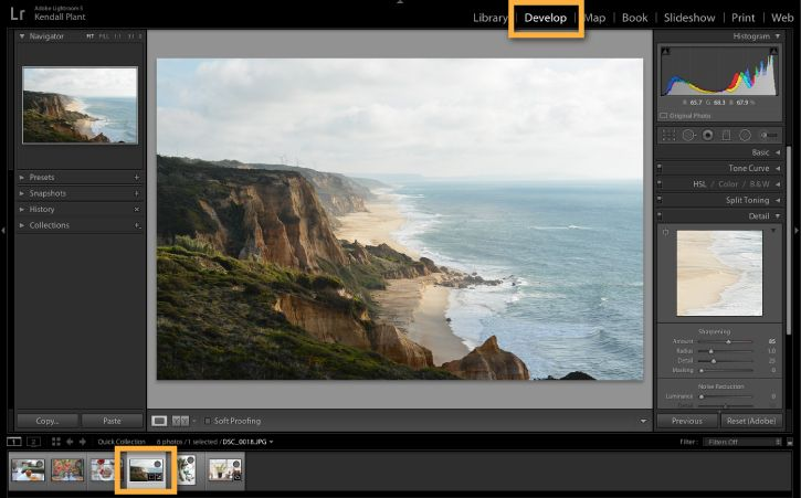How to sharpen a blurry photo in Photoshop Lightroom | Adobe Photoshop Lightroom CC tutorials
