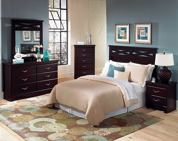 Best Crossroads Bedroom Set American Freight 5 Pieces 698 640 x 480