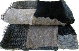 Maak van je oude trui of vest een heerlijk warme deken.