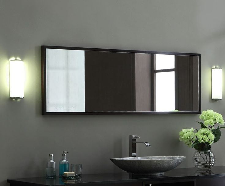 Framed Bathroom Mirrors Canada modern bathroom mirrors canada. decor wonderland ssm310710 quebec