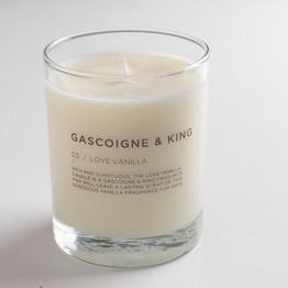 Gascoigne & King Love Vanilla candle