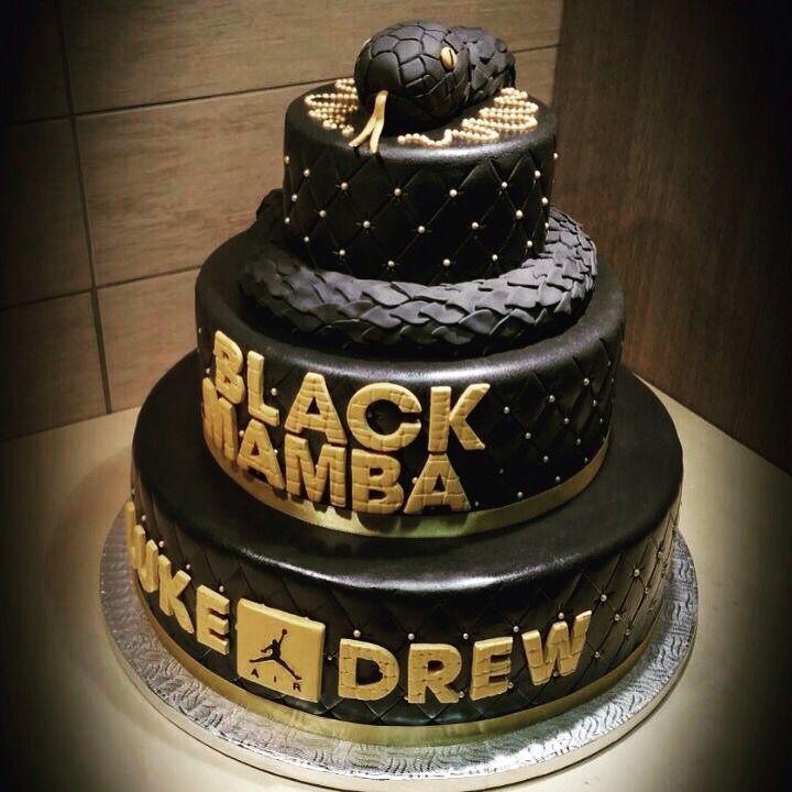 black mamba cake design artist