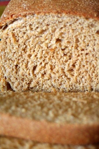 KitchenAid Mixer Recipe: 100% Whole-Wheat Bread